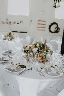 Hochzeit Tischdeko Boho