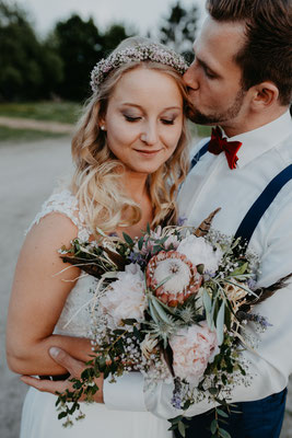 Hochzeit im Bohostil