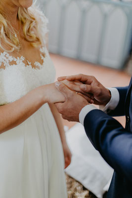 Handhalten Hochzeit