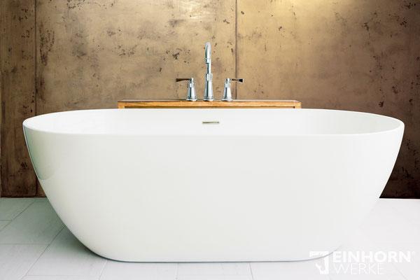 Badezimmer mit Betonoptik Wandgestaltung
