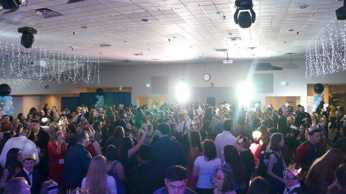 Packed dance floor Night to Shine Silicon Valley, Campbell, CA - San Jose DJ Services