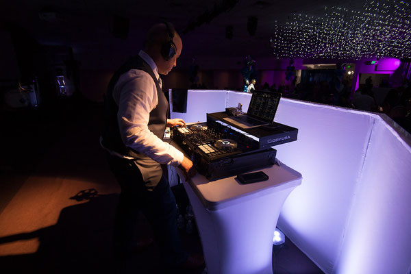 Me working the magic on the DJ Controller, Night to Shine, Campbell CA - San Jose DJ Services