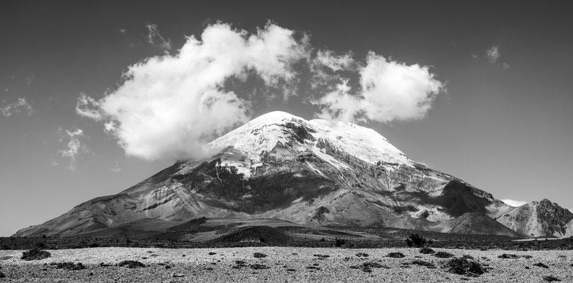 """Vulkan Chimborazo, 6310m, Annahme fotoforum Award 6/2015 Landschaften, Kategorie """"Welt der Berge"""", Heftveröffentlichung"""