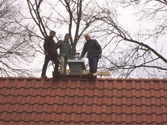 Der Schornstein - jetzt wird es warm im Haus