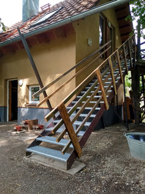 Die neue Treppe