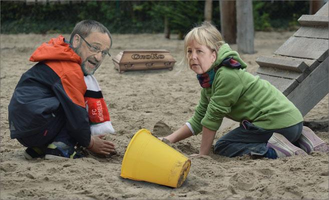 Angie, lass uns die GroKo hier begraben ....