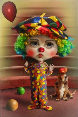 der Puppen-Clown ...
