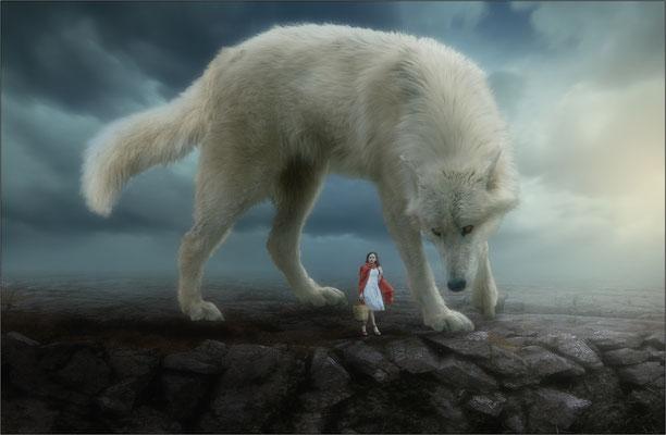 """Rotkäppchen und der """"große"""" Wolf ...."""