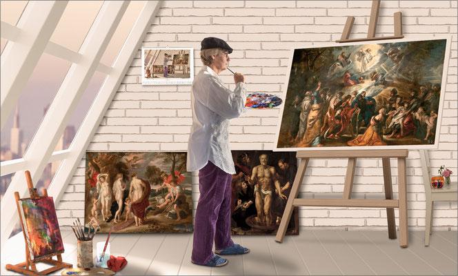 """Die """"Rubens""""-Kunstfälscherin ..."""