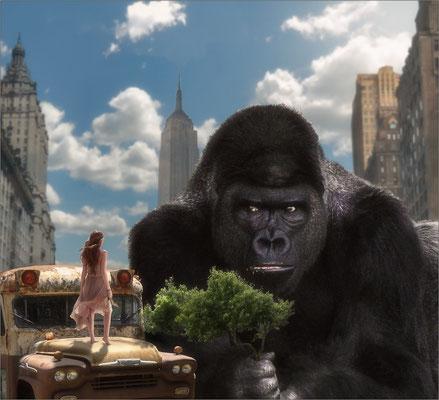 King Kong und die weiße Frau ...