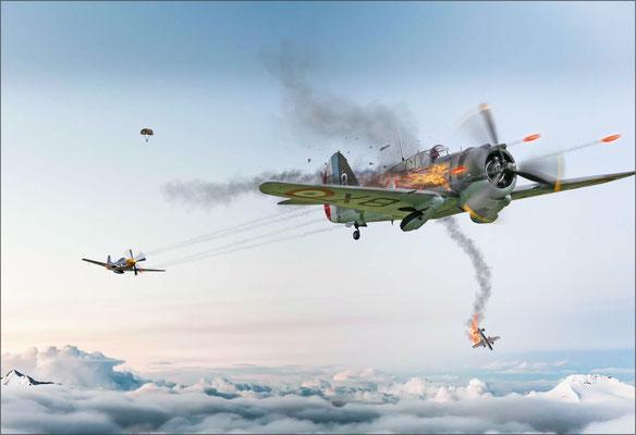Luftkampf ...