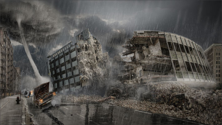 Zerstörung ...