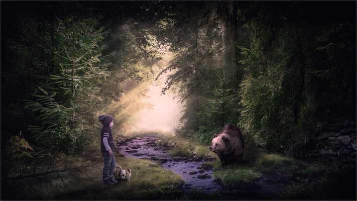 Begegnung im Märchenwald ...