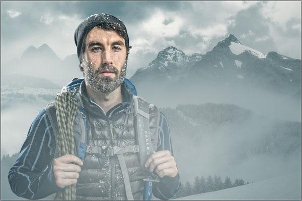 der Bergsteiger ...