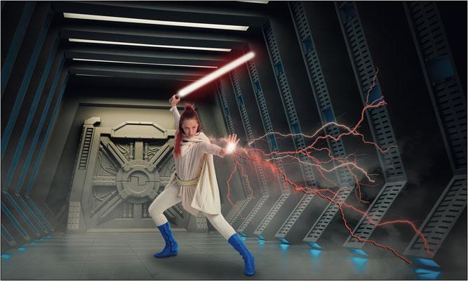Jedi-Kämpferin ...