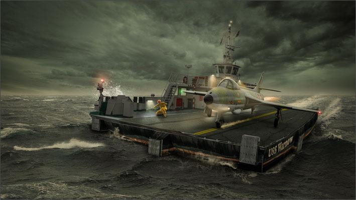 USS Warnow ...