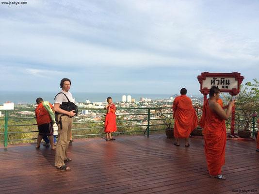 Auf Khao Hin Lek Fai, dem aussichtsreichsten View-Point von Hua Hin, TH