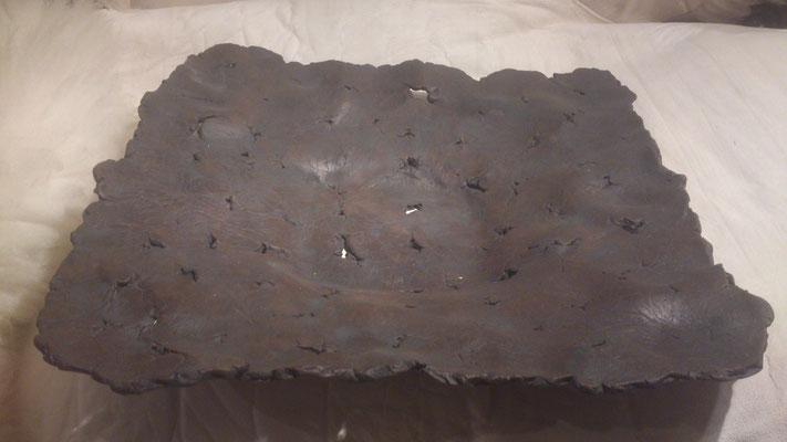 """Schaal """"Leather""""(Keramiek, sulfaten) 40 cm"""