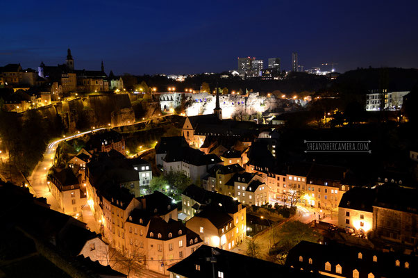 Luxembourg-City by Night