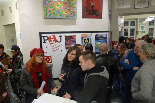 Vernissage of Young Artists 2016 at Point Info Jeunes Esch