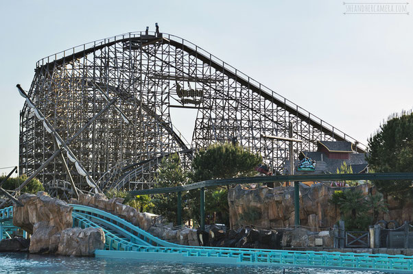 Europapark - Atlantica SuperSplash and Wodan Timburcoaster