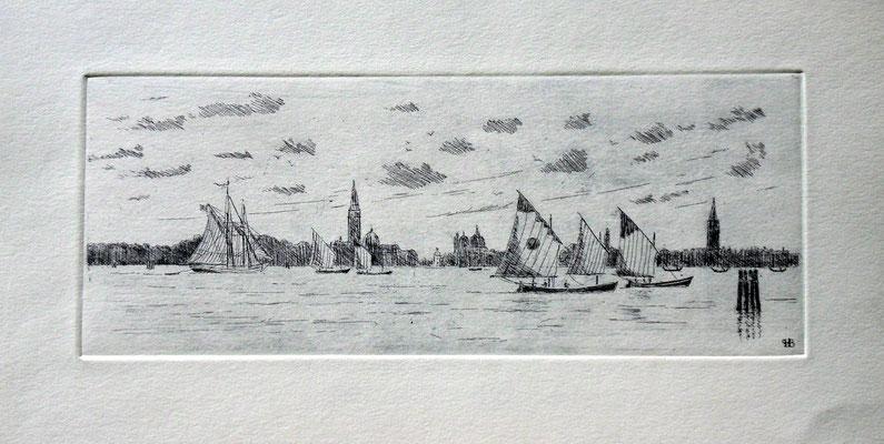 Venise. Vela al terzo( 10 x 25 )