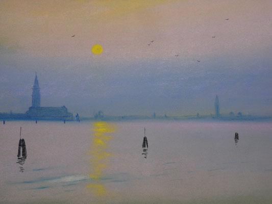Venise  soir d'hiver