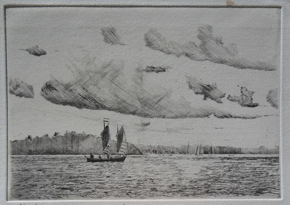 Sinagot devant l'Ile aux Moines   . Morbihan