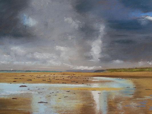 Cotentin. Marée basse