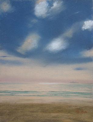 Reflet sur la mer