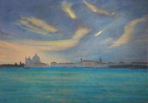 Venise. Jeu de nuages