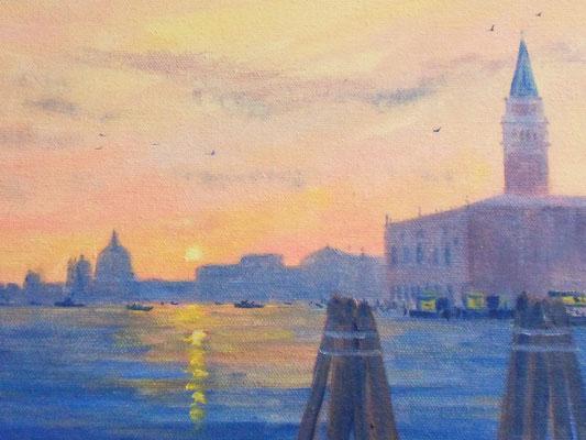 Venise    Soir d'automne hst