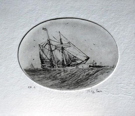 Goelette d'Islande  (9 x 12 )
