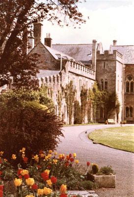 Garten am Bishop's Palace - Foto: Archiv Hans Haußner