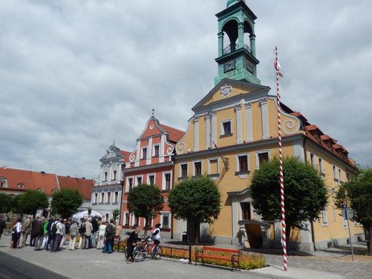 Altes Rathaus am Markt - Foto: Archiv Partnerstädteverein Bad Dürkheim