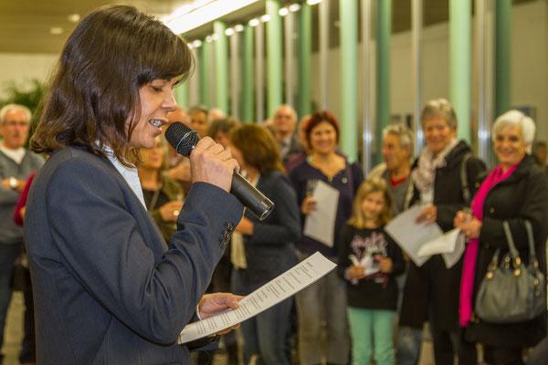 Laudatio: Tochter Miriam Foletti
