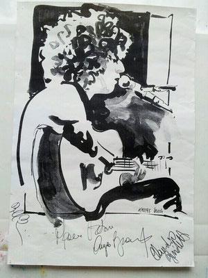 Angelo Branduardi,Konzert in Singen BRD