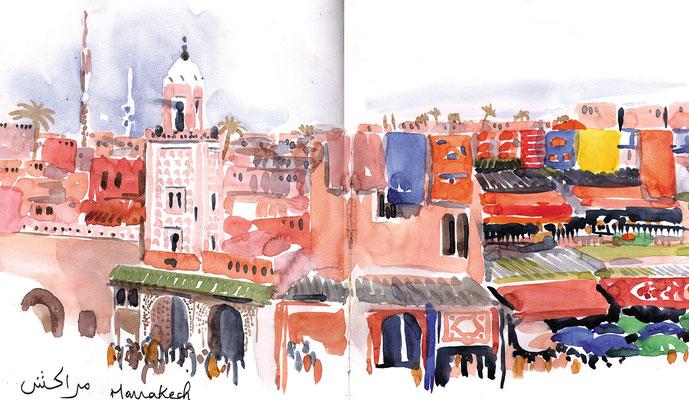 Marokko/Marrakech