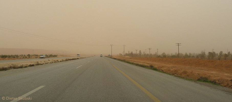 Syrien Highway to Aleppo