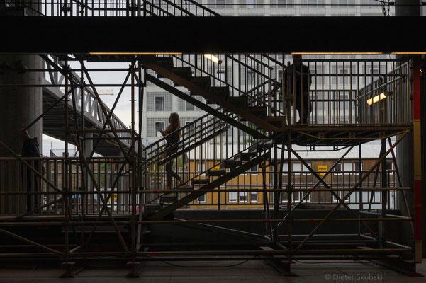 eine der vielen Baustellen in Stuttgart
