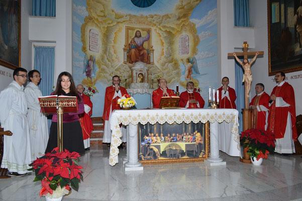 Messa col vescovo