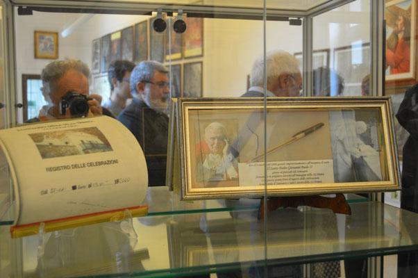 uno degli illustri pellegrini di questo santuario è stato san Giovanni Paolo II, il 3 ottobre 2000