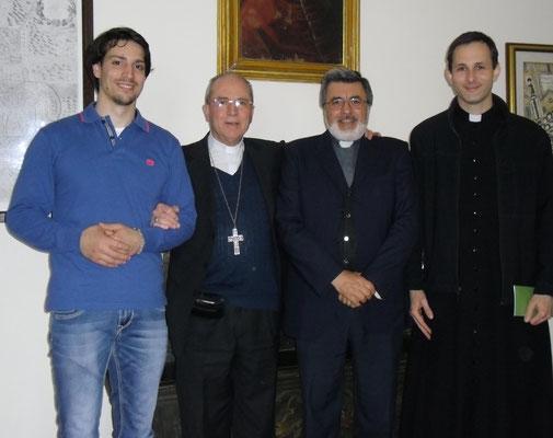 Con il vescovo