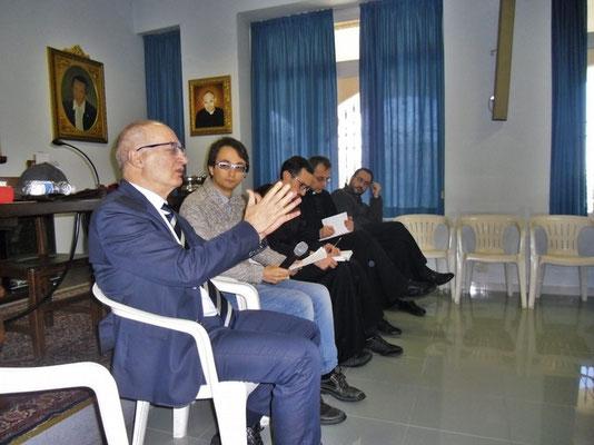 Col prof. ANtonio Fiorito