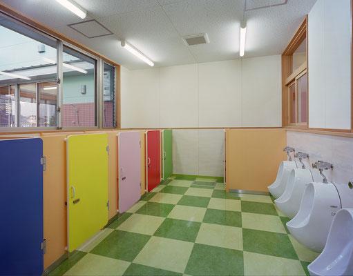 3・4・5歳児用トイレ