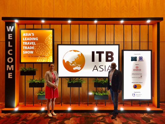 ITB Asia 16-18 Oct 2019 : Welcome Stand