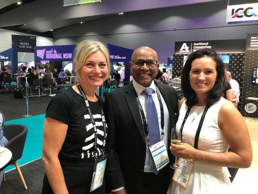 AIME 2020 , Melbourne Australia - GSA Hospitality represented ay AIME.