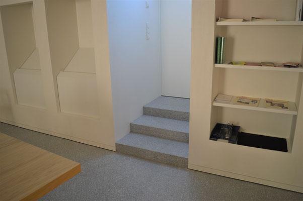 herstellung von terrazzotreppen und terrazzostufen terrazzob den. Black Bedroom Furniture Sets. Home Design Ideas