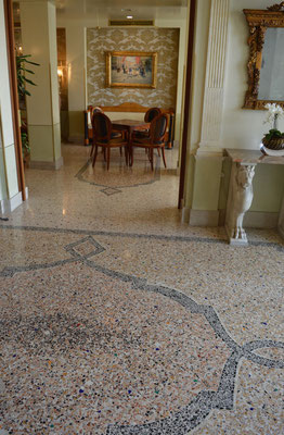 Pavimento veneziana - Terrazzoböden