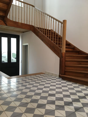 sanierung eines zementplattenbodens terrazzob den. Black Bedroom Furniture Sets. Home Design Ideas